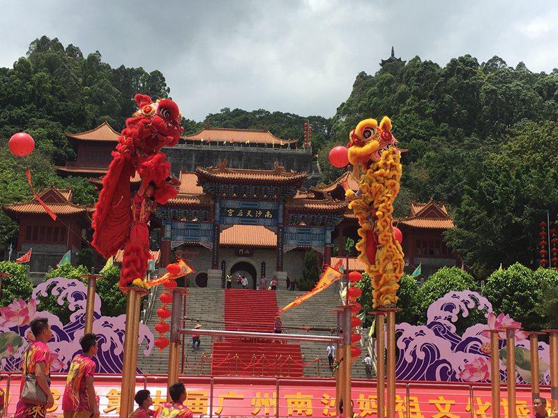 深圳旅游景点舞狮表演