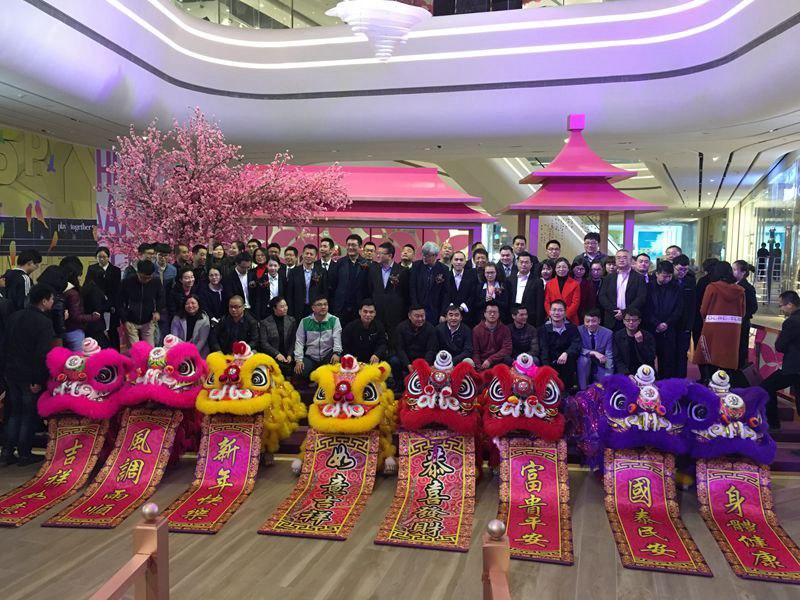 深圳春节舞狮